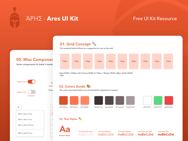 Ares Web UI Kit