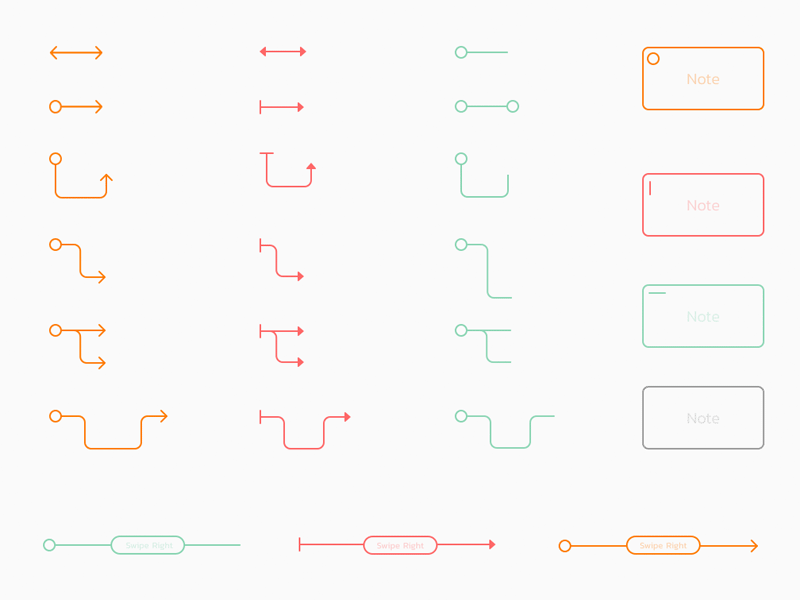 Arrows Wireframe Kit