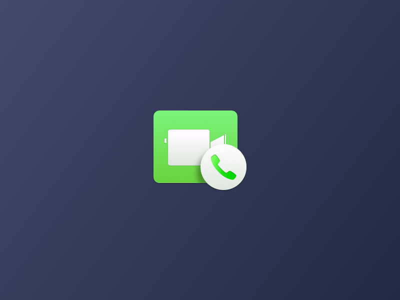 Facetime Yosemite Icon