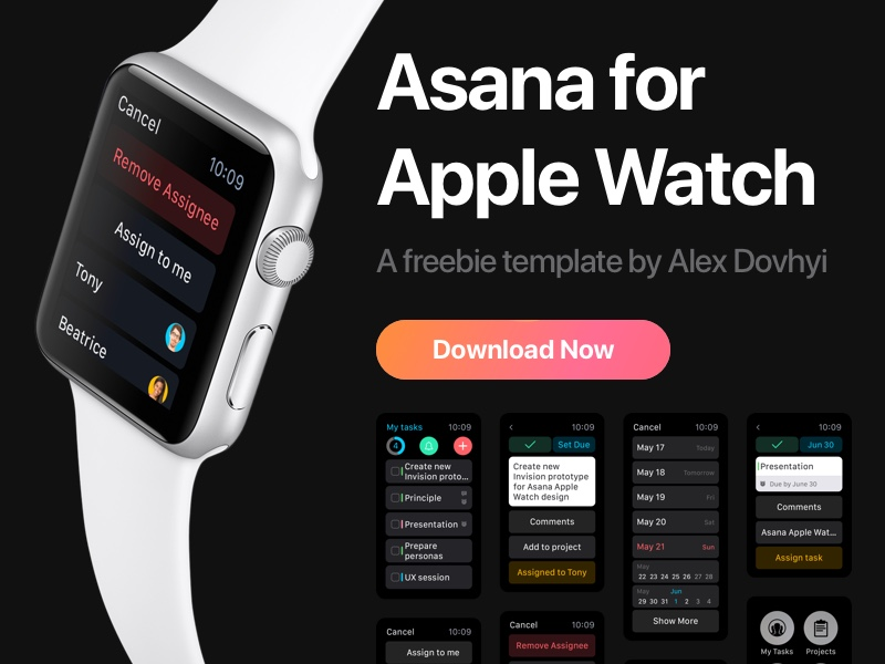 Asana for WatchOS