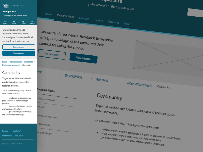 Web Components Australian Government Design System Sketch Freebie Download Free Resource For Sketch Sketch App Sources
