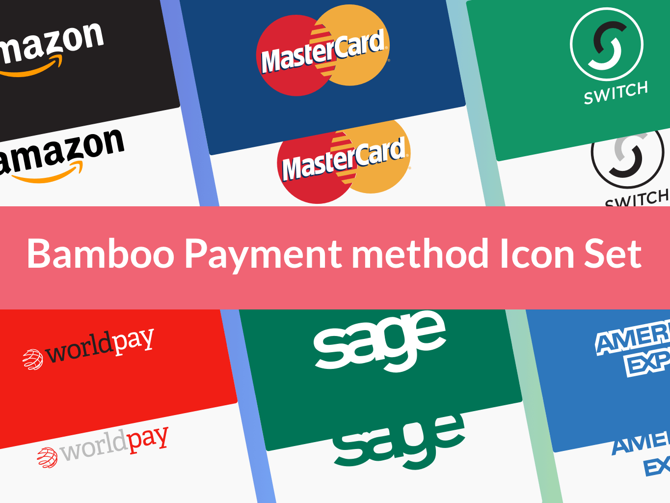 Credit Cards Icon Set - Payment Icons Sketch freebie - Download