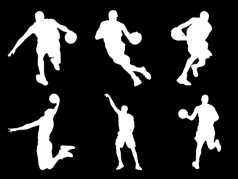 Basketball Player Silhouette