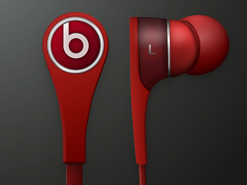 Beats Earphones Sketch freebie - Download free resource for