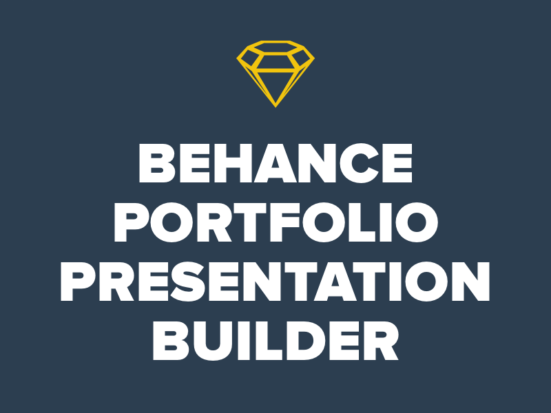 Behance Portfolio Presentation Template And Builder