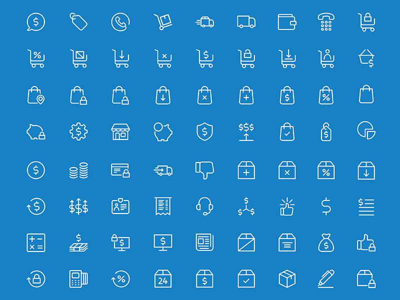 Billing and Utility Icon Set