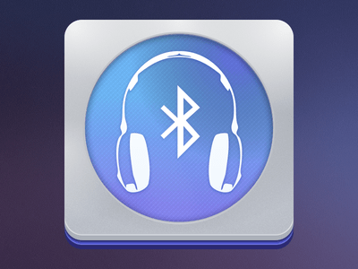 Bluetooth Headphones Icon