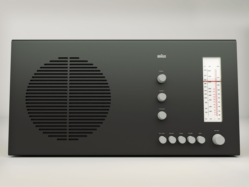 Braun RT 20 Radio