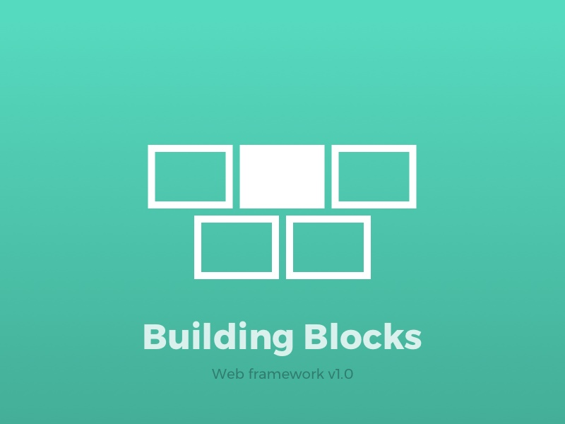 Web Framework - Building Blocks