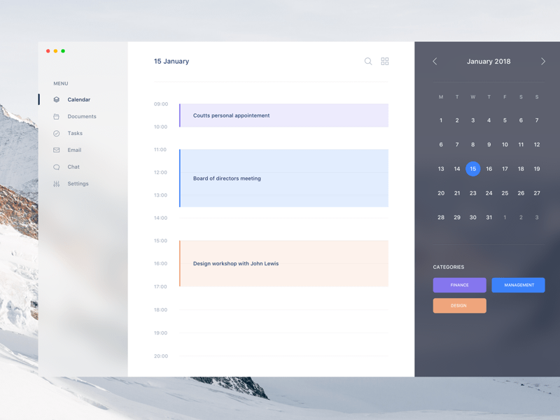 Weekly Calendar Ui : Ios ui kit android gui templates responsive layout