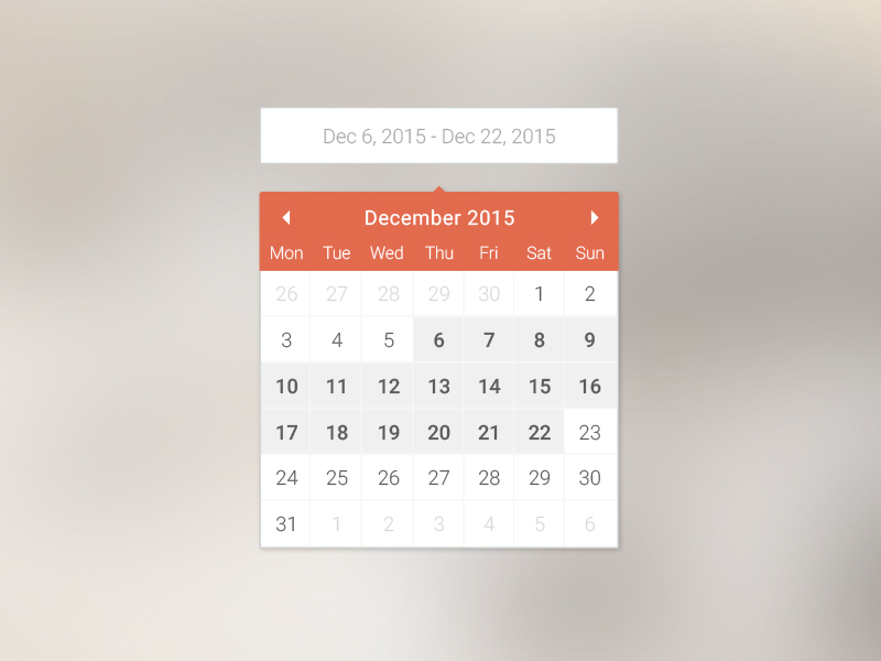 Calendar Design Date : Calendar date widget selector sketch freebie download