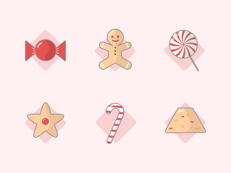 6 Candy Icons