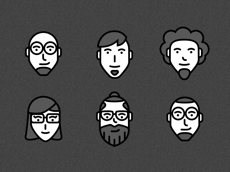 7 User Persona Icons