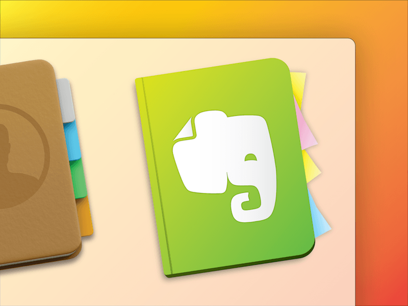 Evernote Yosemite Icon