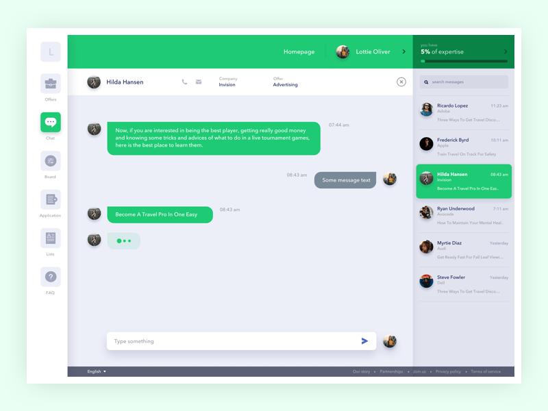 Chat Desktop View Sketch Freebie Download Free Resource For Sketch