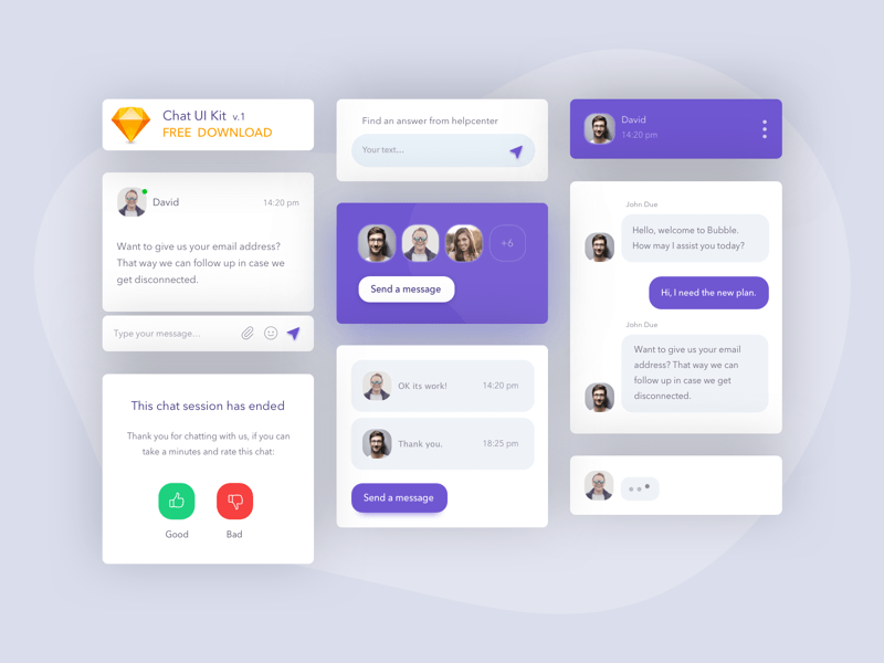 Basic Chat UI Kit