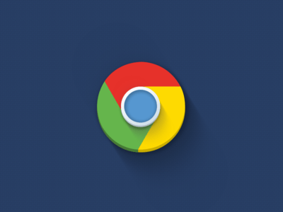 Chrome Icon flat