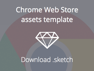Chrome Web Store assets template