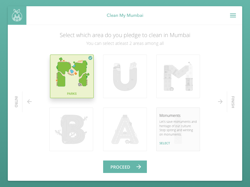 Clean My Mumbai Website