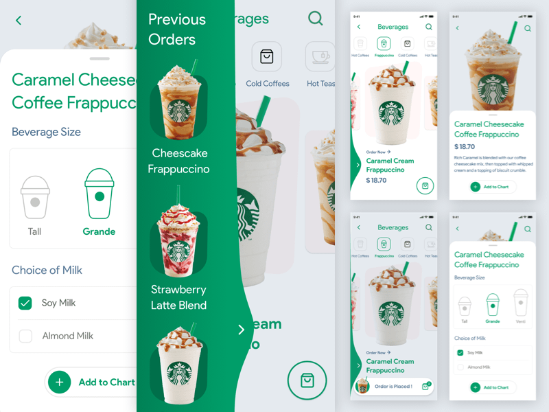 Coffee Order App Concept