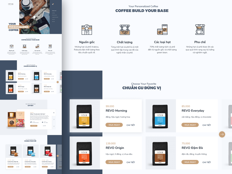 Coffee Shop Web Template