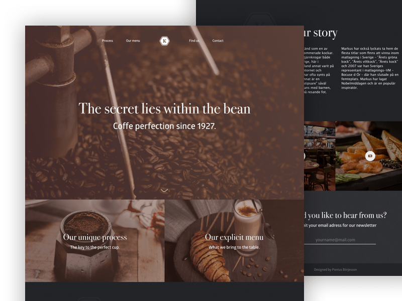 Coffeeplace Landing Page