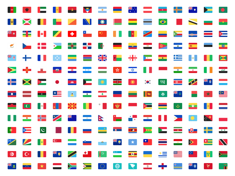 Country Flags Kit