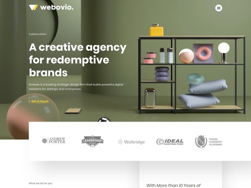 Creative Agency Web Template