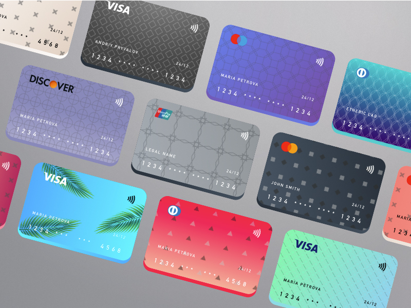 Credit Cards Symbols Kit