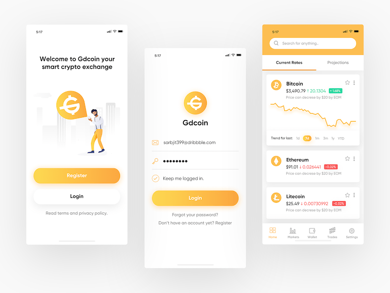 cryptocurrency rate app