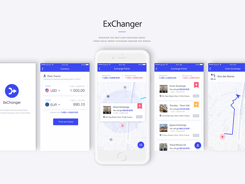 Currency Exchanger App