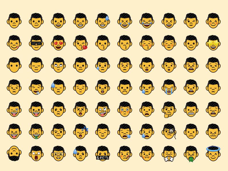 Custom Emoji Template