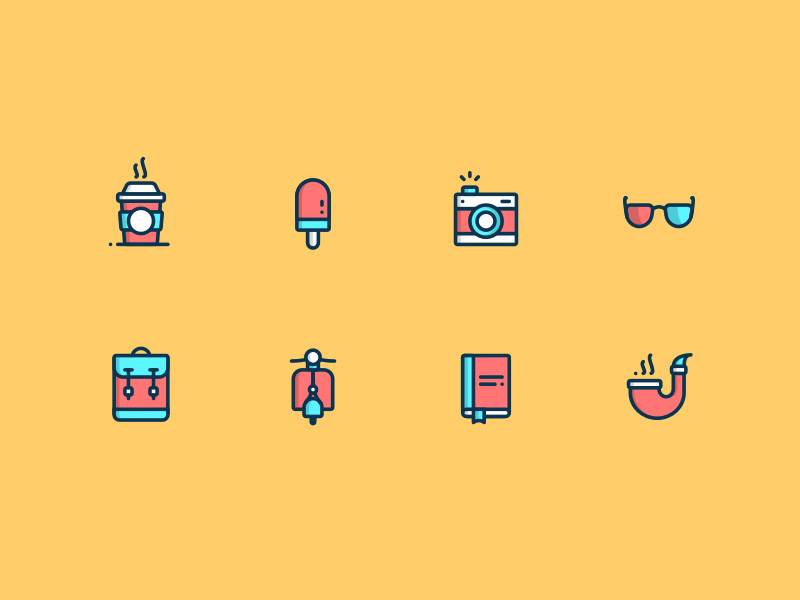 Daily Icon Set