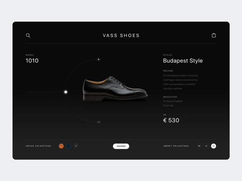 Shoes Product Page