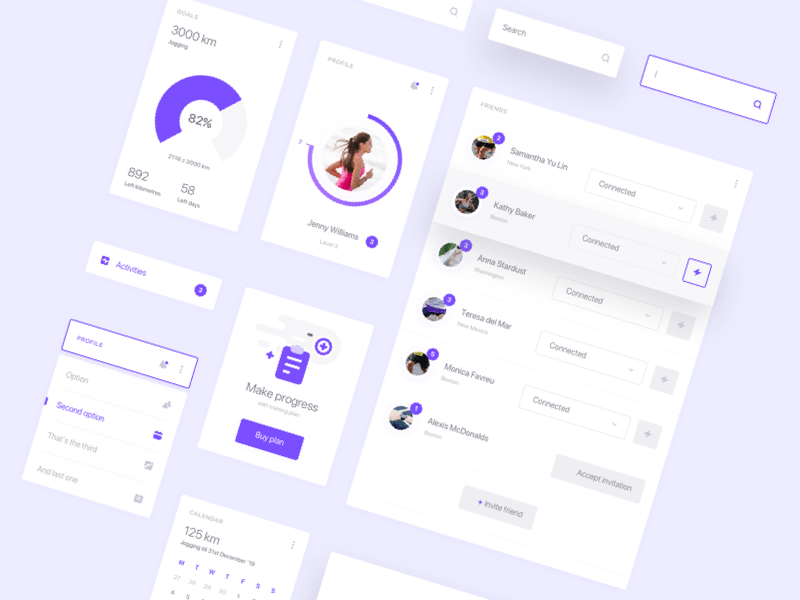 Fitness and Health Dashboard