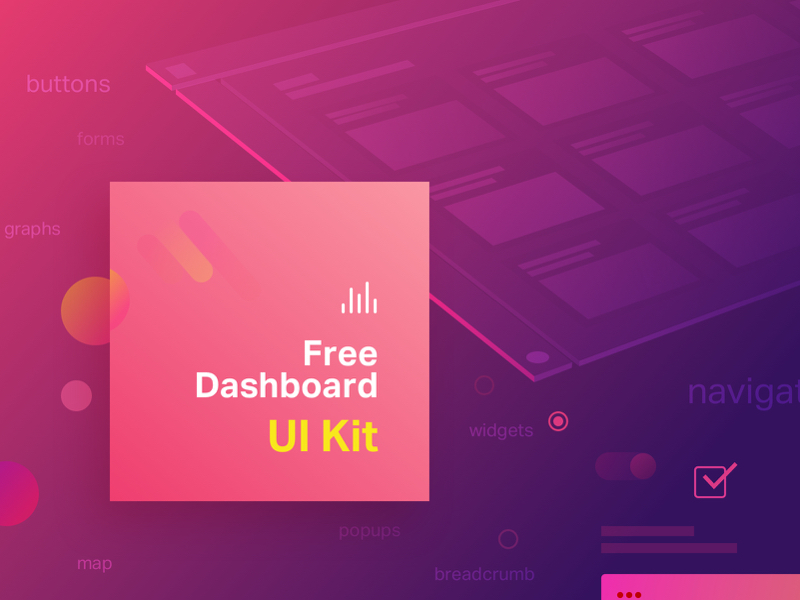 Dashboard UI Kit Sketch freebie - Download free resource for Sketch