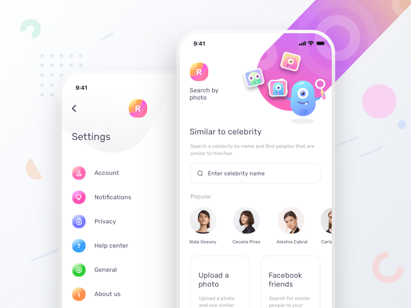 Dating App Concept Screens
