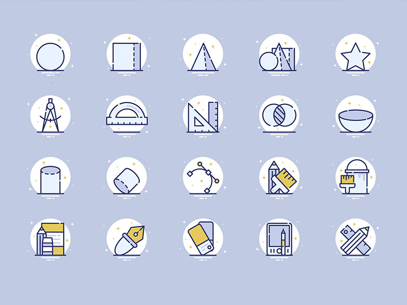 25 Design and Graphics Icons