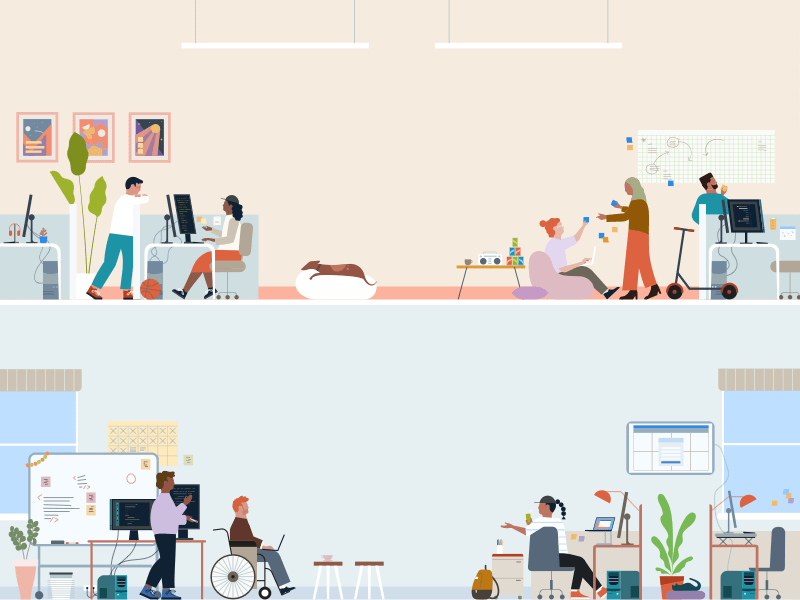 Office Illustration