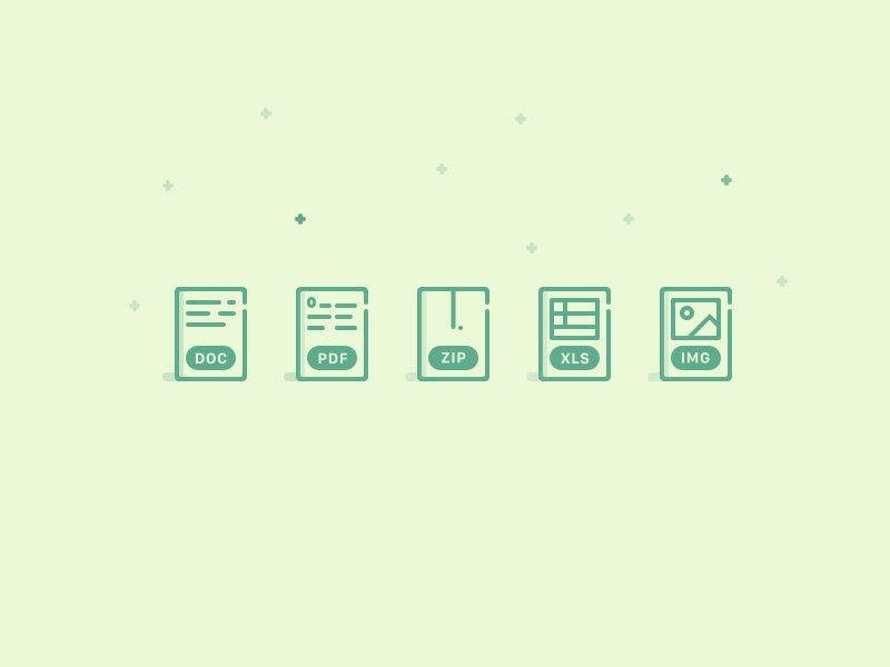5 Document Icons