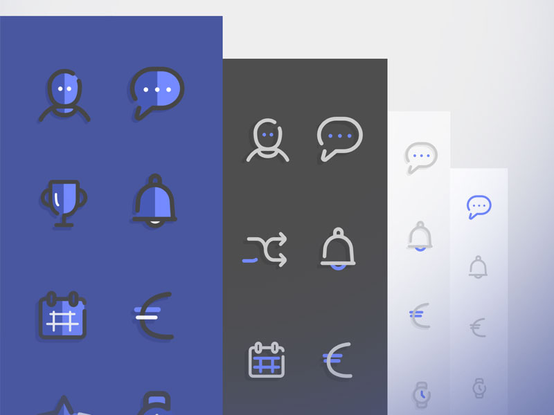 Four Icon Sets