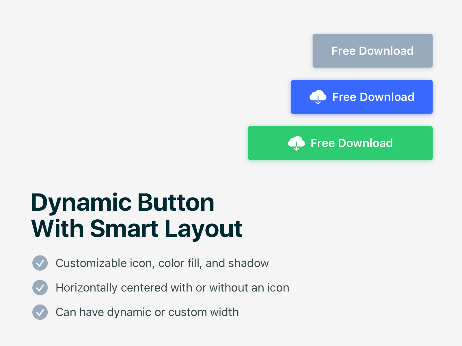 Smart Layout Buttons
