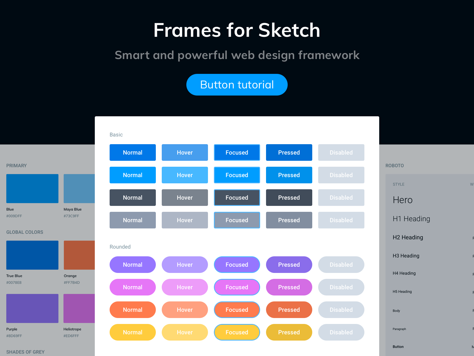 Dynamic Buttons in Sketch Sketch freebie - Download free