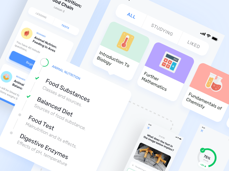 E-learning App UI Kit