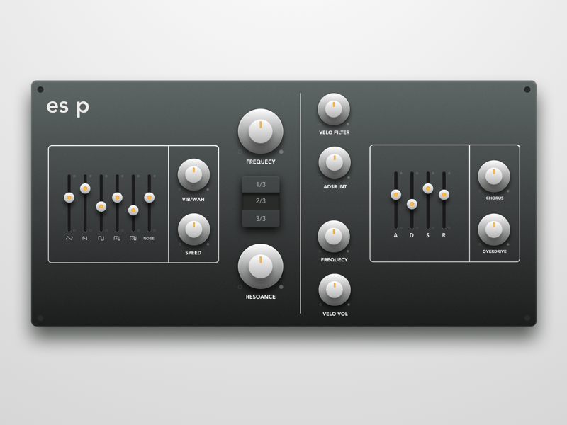 Synth Plugin Redesign