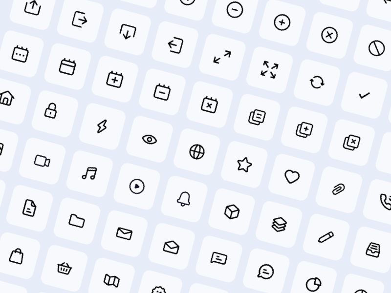 81 Mini Essential Icons