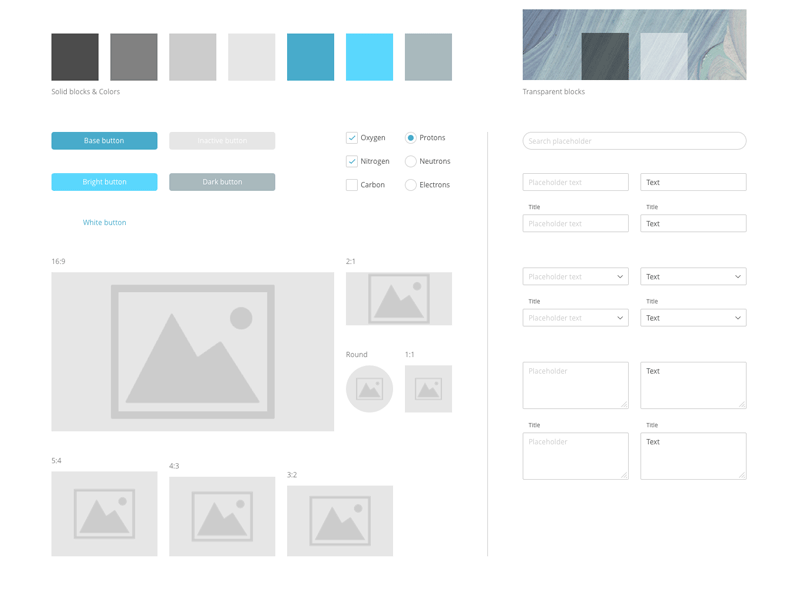 Essential Prototyping Template Sketch freebie - Download