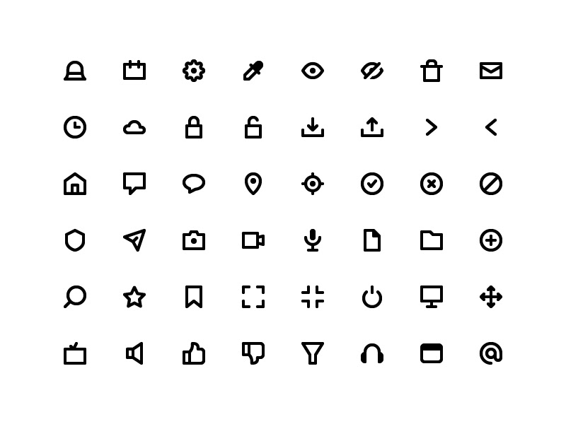 50 Alt Coin Icons Sketch freebie - Download free resource