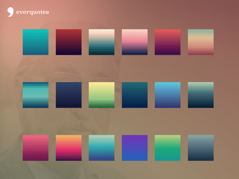 Gradients from Everquotes