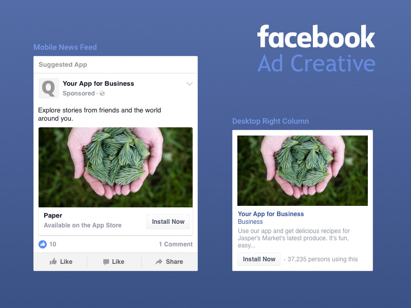 Facebook Ad Creative